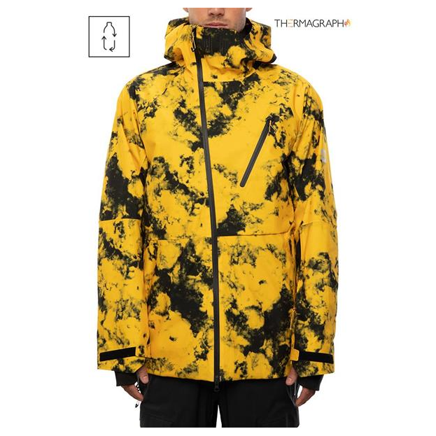 686 2021 Men's GLCR Hydra Thermagraph Jacket