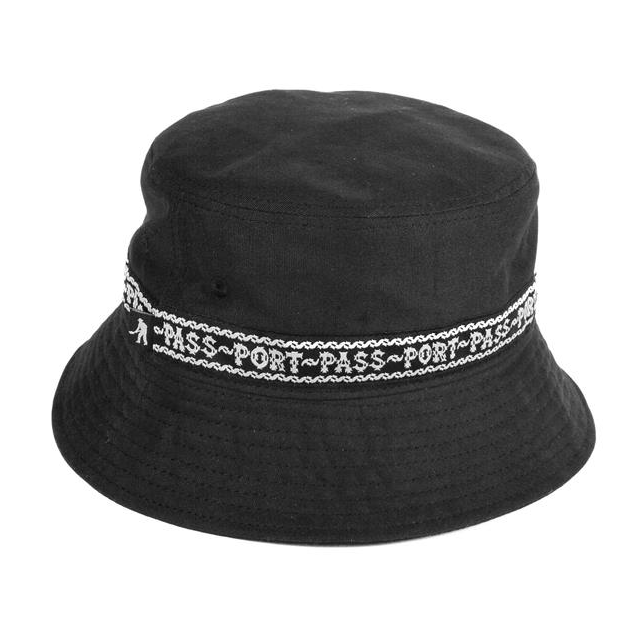 Passport Barbs Ribbon Bucket Hat