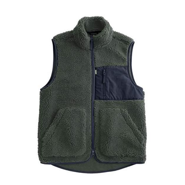 Vic Pile Fleece Vest