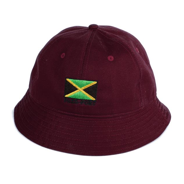 Passport Jamaica Twill Bucket Hat