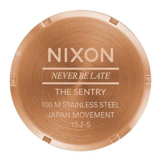 Nixon Sentry Leather