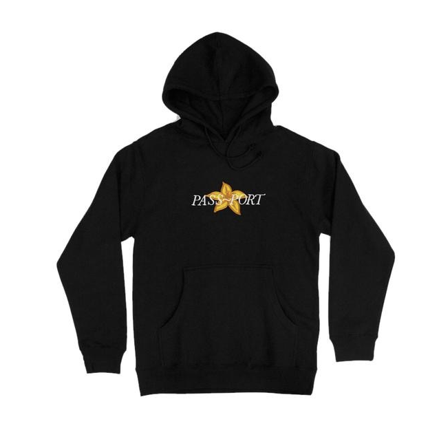 Passport Daffodil Applique Hoodie