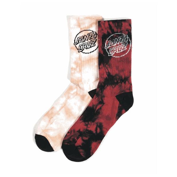 Santa Cruz Dye Dot Socks
