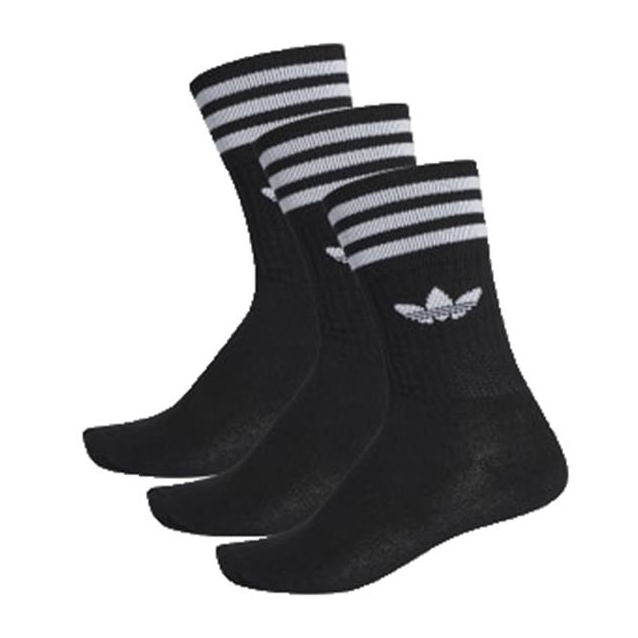 Adidas Solid Crew Socks 3pk