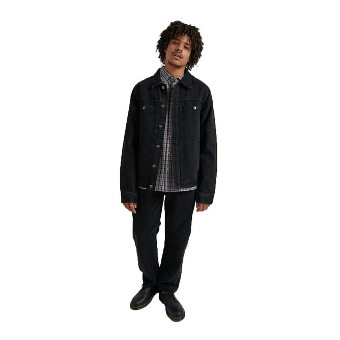 Afends Detroit Unisex Organic Denim Jacket