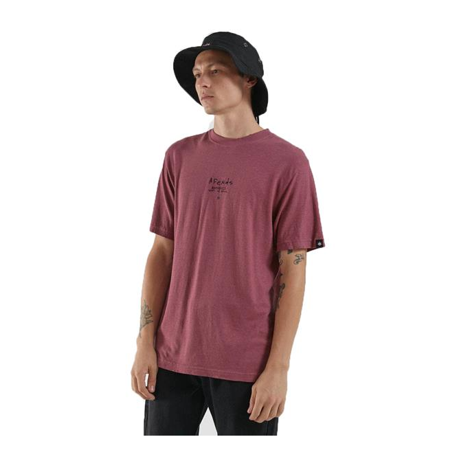 Afends Static to Violent Hemp Retro Fit Tee