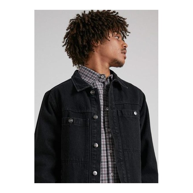 Afends Detroit Unisex Organic Denim Jacket