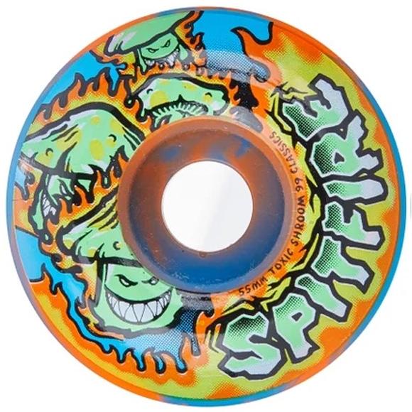 Spitfire Toxi Shrooms Swirl Wheels