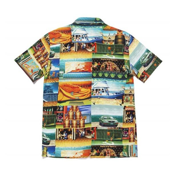 HUF Street Fighter Stages Resort Shirt