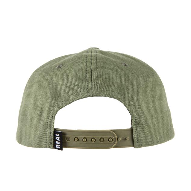 Real Oval Patch Cap
