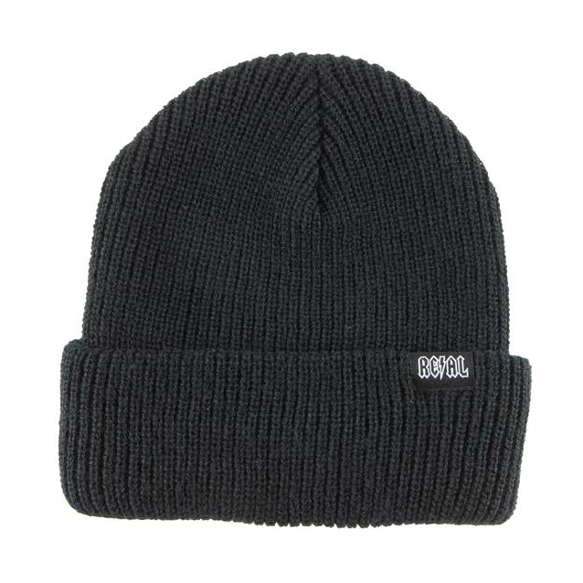 Real Deeds Clip Label Beanie