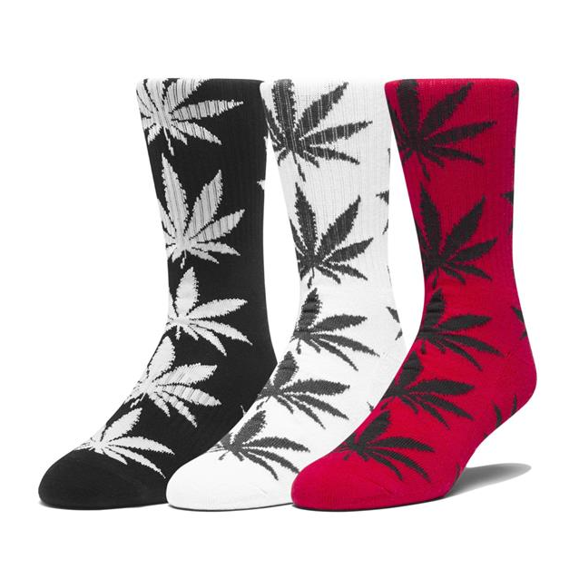 HUF Plantlife Socks - 3pk