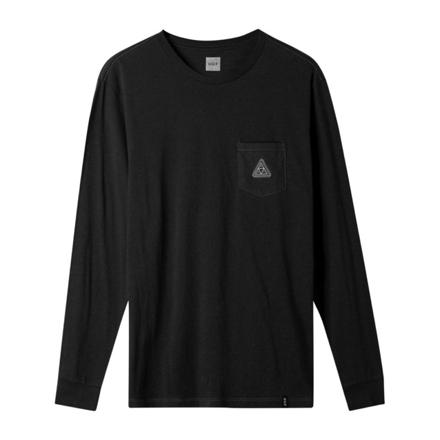 Huf Peak Patch L/S Pocket Tee