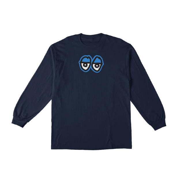 Krooked L/S Eyes Tee
