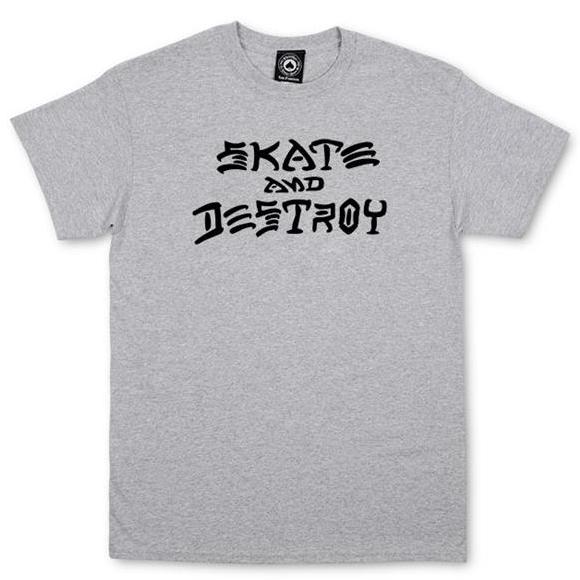 THRASHER SKATE & DESTROY TEE
