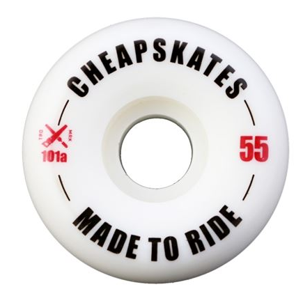 CHEAPSKATES *MADE TO RIDE* WHEELS: