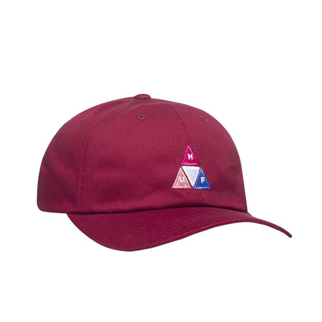 Huf Peak Logo Curved Visor 6 Panel Hat