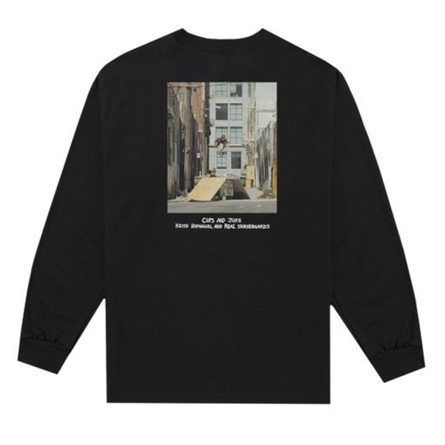 Huf x Real Cups And Jugs L/S Tee
