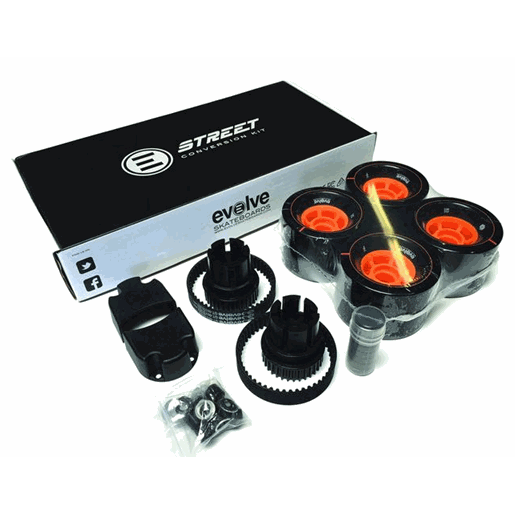 Evolve GT Street Wheels Kit