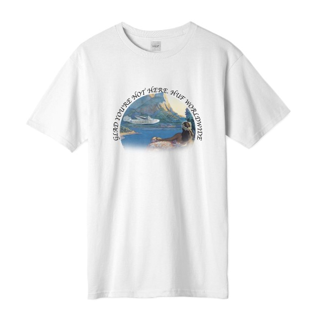 Huf Glad You're Not Here Tee