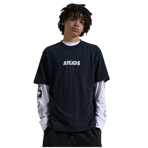 Afends Noise Retro Fit Tee