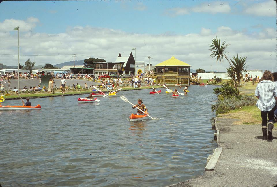 Canoeing was also a popular sport in 1979