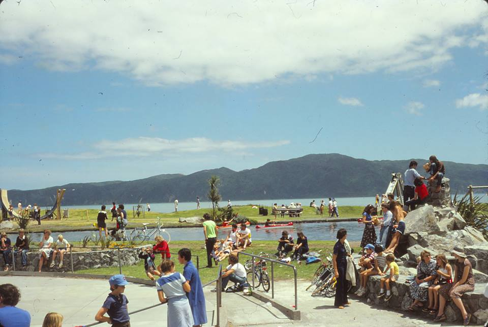 Classic NZ Summers day back dropped by Kapiti Island