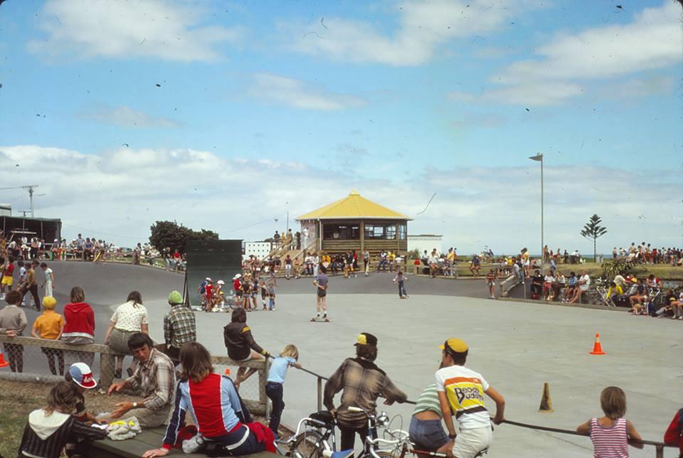 Paraparaumu Beach Skate Park 1979